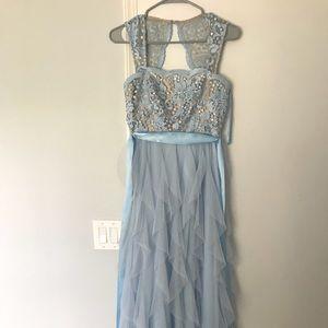 Dresses & Skirts - Long blue prom dress